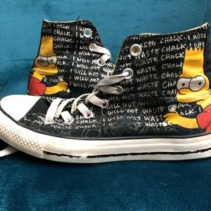 Simpsons Converse Hi Tops, from 2013
